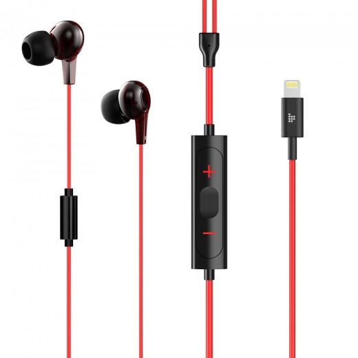 Tronsmart Encore Écouteurs avec connecteur Lightning pour iPhone - Rouge