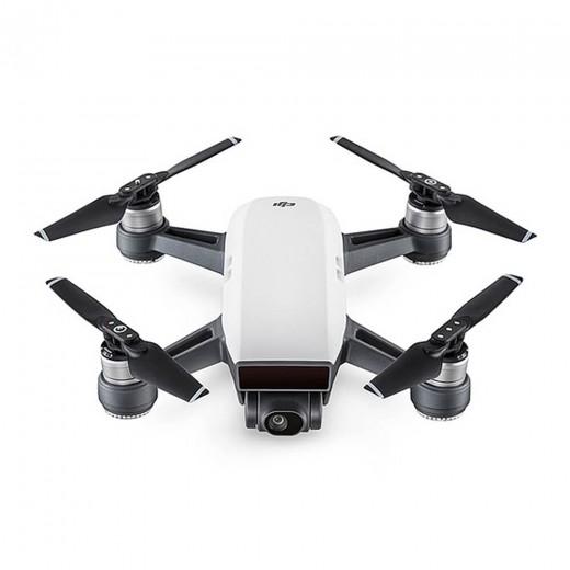DJI Spark Mini Selfie Drohne Quadcopter BNF - Weiß