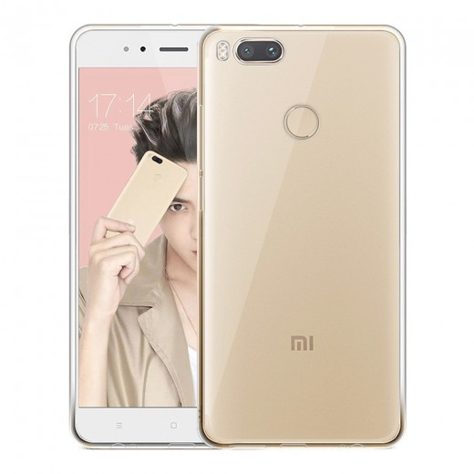Xiaomi 5X and A1 Silicon Back Cover - Transparent