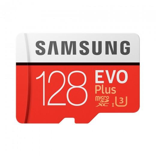 Carte Mémoire Micro SD 128Go Samsung EVO Plus UHS-3
