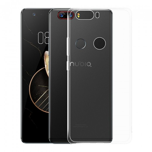Nubia Z17 Silicon Back Cover - Transparent