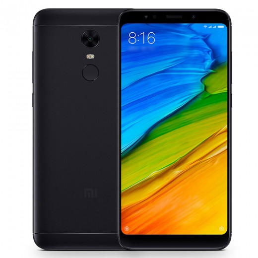 Xiaomi Redmi 5 Plus 5.99 Inch 4G LTE Smartphone 18:9 Full Screen 3GB 32GB 12.0MP Cam Qualcomm Snapdragon 625 Octa Core