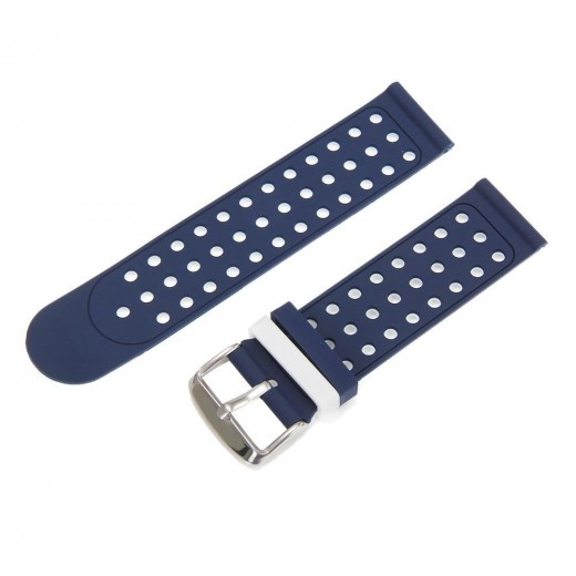 Huami Amazfit Bip Replacement Strap Dual Color - Blue & White