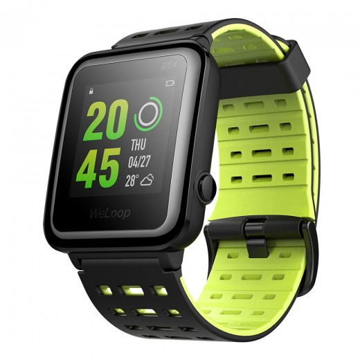 WeLoop Hey 3S montre connectée imperméable, verte