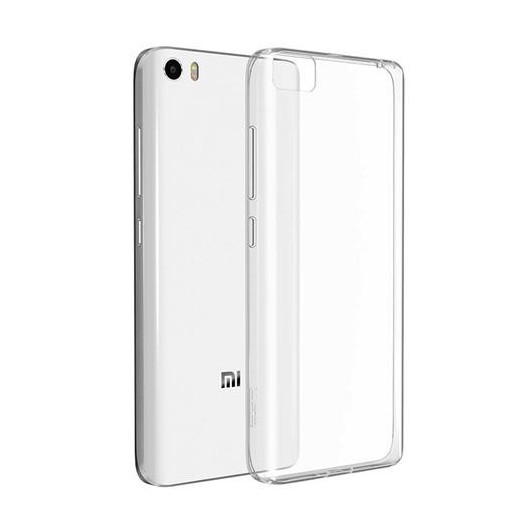 Xiaomi Mi 5 Hülle aus TPU Silikon - Transparent