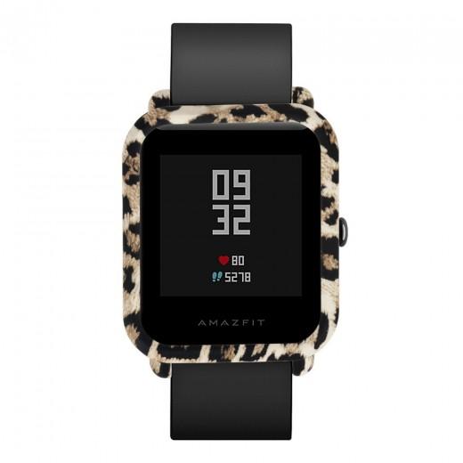Coque de protection pour Xiaomi Amazfit Bip Lite, Leopard