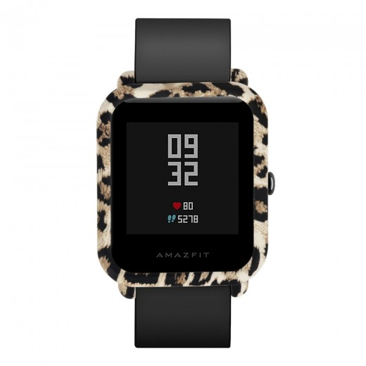 Protective Cover Case for Huami Amazfit Bip – Leopard