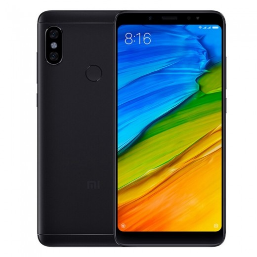 Xiaomi Redmi Note 5 4Go/64Go Version Globale, Noir