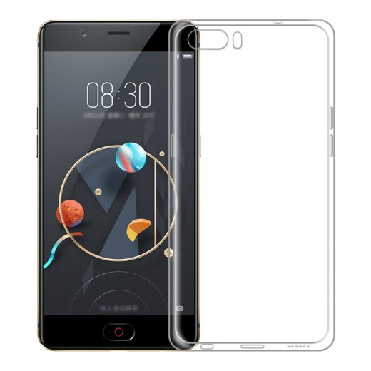 Nubia M2 Silicon Back Cover - Transparent