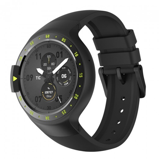 Ticwatch S Smartwatch - Schwarz