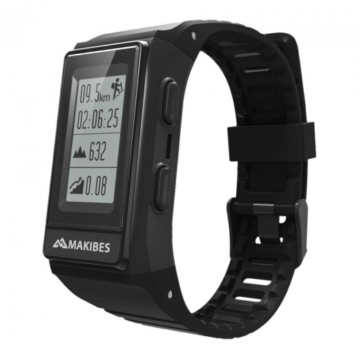 Makibes G03S GPS Smart Band – Schwarz