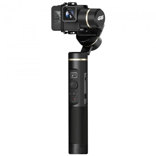 Feiyu Tech G6 3-Axis Brushless Handheld Gimbal Stabilizer for Action Camera