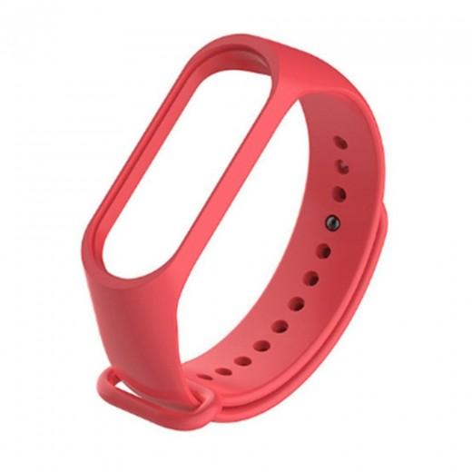 Bracelet pour Xiaomi Mi Band 3 et Mi Band 4 - Rouge