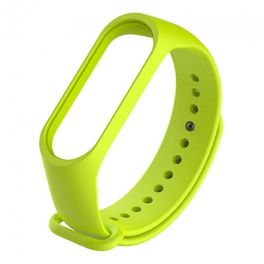 Silicon Replacement Strap for Xiaomi Mi Band 3 - Green