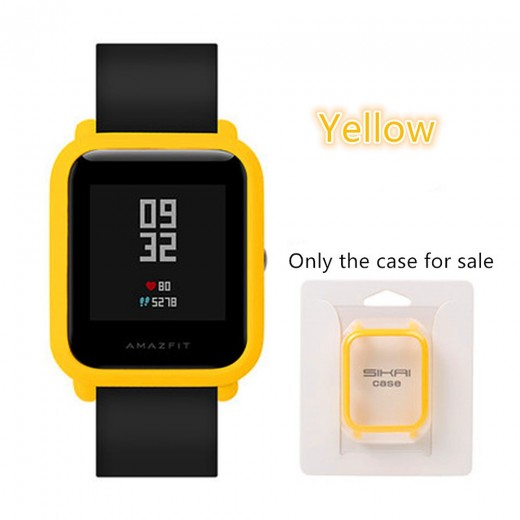 Protective Cover Case for Huami Amazfit Bip - Yellow