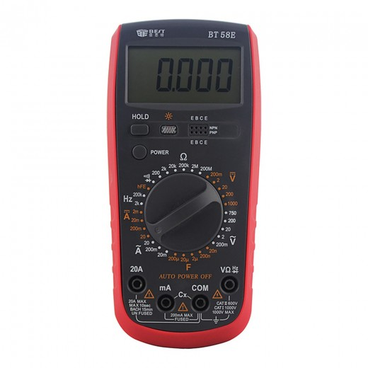 BEST BT-58E LCD Digital Multimeter