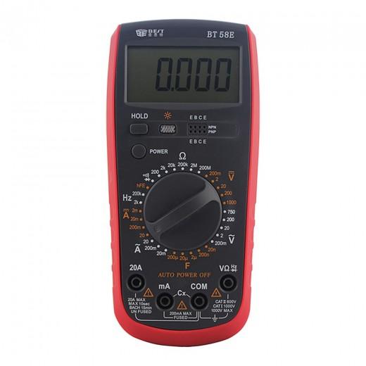 BEST BT-58E Multimètre Numérique