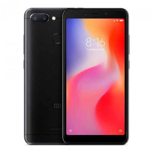 Xiaomi Redmi 6 4Go/64Go Version Globale, Noir
