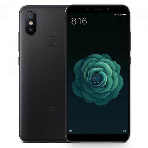 Xiaomi Mi A2 4/32Go AndroidOne, Noir