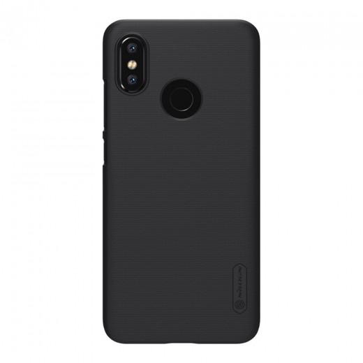 Nillkin Schutzhülle für Xiaomi Mi8 Global- Schwarz