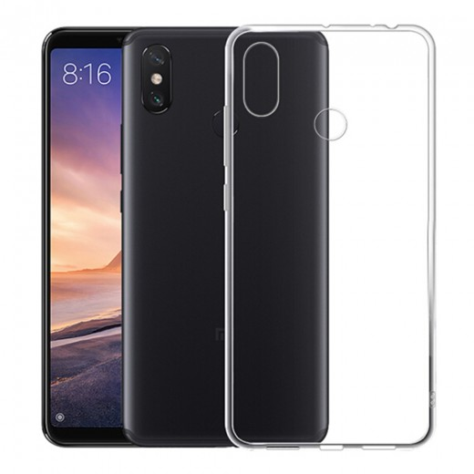 Xiaomi Mi Max 3 Silicon TPU Cover - Transparent