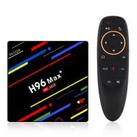 H96 MAX+ 4/32GB mit Fernbedienung