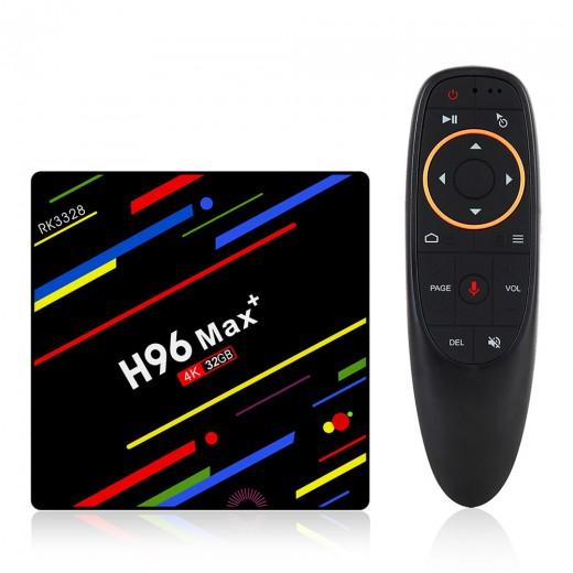 H96 MAX+ 4/32Go avec télécommande