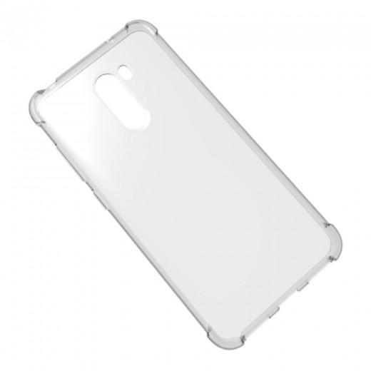Xiaomi Pocophone F1 Hülle aus TPU Silikon - Transparent