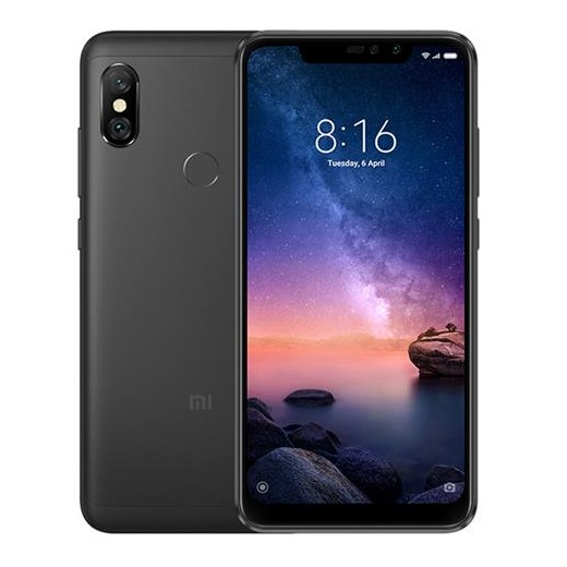 Xiaomi Redmi Note 6 Pro 4/64GB Globale Version - Schwarz