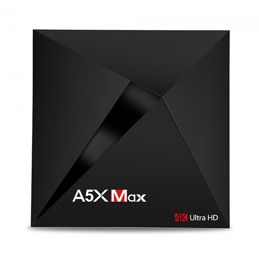 A5X MAX Android 7.1.1 KODI 17.3 4GB/32GB RK3328 4K HDR TV Box