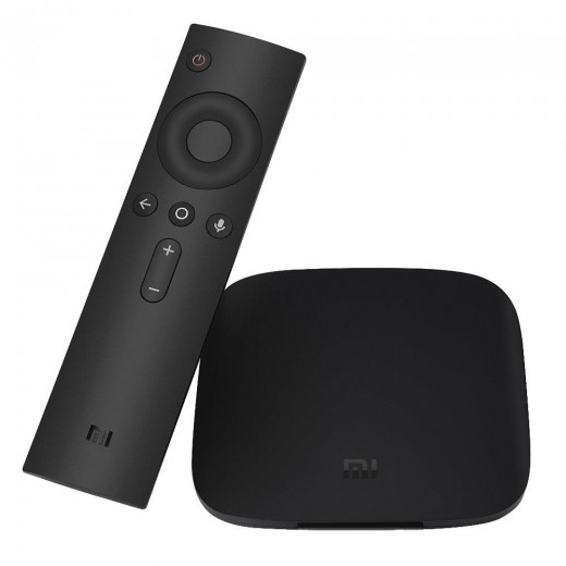Xiaomi Mi Box 3S with remote controller and vocal commands - English Version
