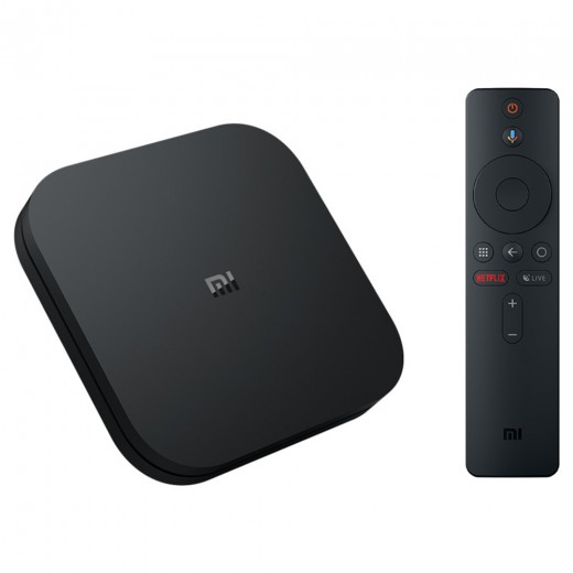 Xiaomi Mi Box S with remote controller and Google Assistant Global version