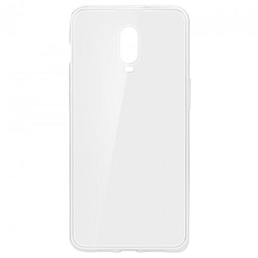 Hülle aus TPU Silikon für Oneplus 6T - Transparent