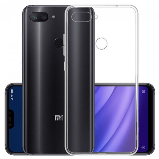Soft Phone Case for Xiaomi Mi 8 Lite - Transparent
