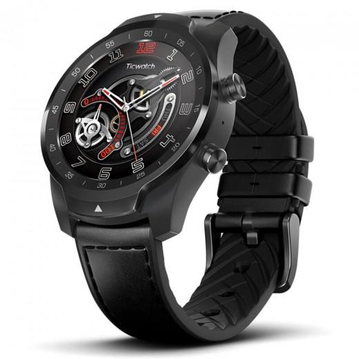 TicWatch PRO Smartwatch - Schwarz