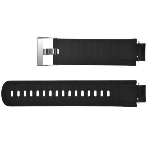 Silikon Armband für Xiaomi Huami Amazfit Verge - Schwarz