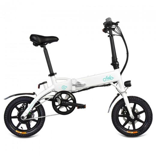 FIIDO D1 Vélo électrique pliant (10.4 Ah) - Blanc