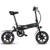 FIIDO D1 Folding Moped E-bike 10.4Ah Battery - Black