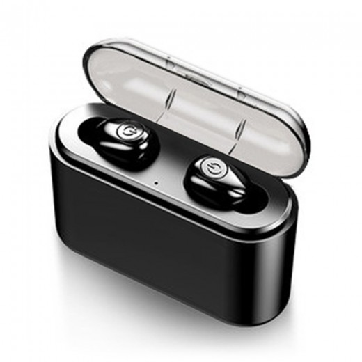 X8-TWS Mini Bluetooth Earphones - Black