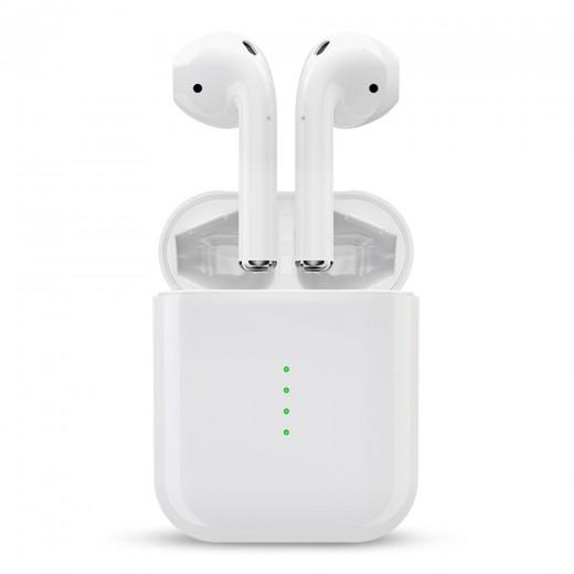 i10 TWS Écouteurs Bluetooth, Blanc
