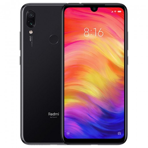 Xiaomi Redmi Note 7 Version Globale 4/128Go, Noir