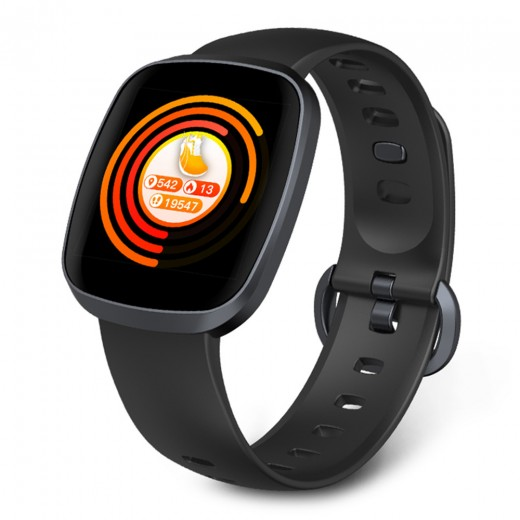 Makibes HR5 Smart Watch - Black