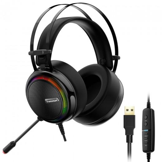 Tronsmart Glary Virtual 7.1 Gaming Headset - Schwarz