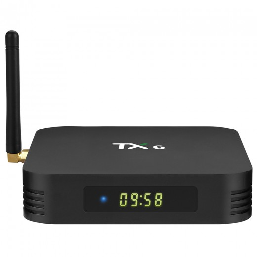 Tanix TX6 4Go/64Go avec télécommande