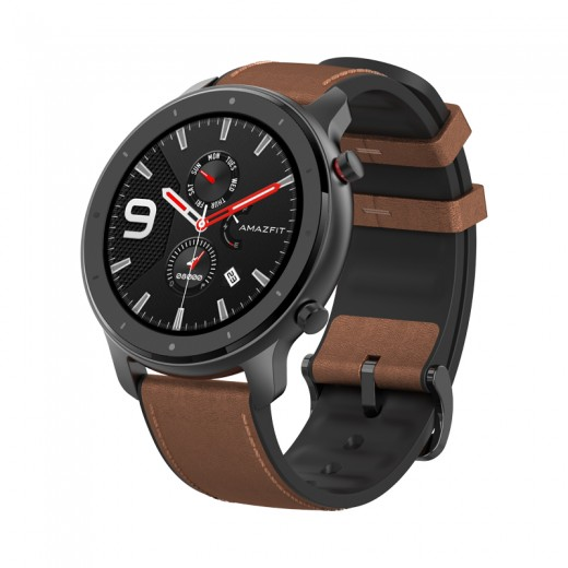 Xiaomi AMAZFIT GTR Smartwatch 1.39 Inch Retina Display 5ATM Water Resistant GPS 47mm Global Version - Aluminum alloy