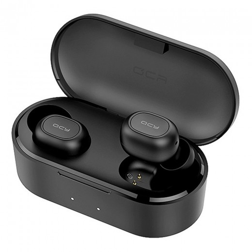 QCY T2S Bluetooth 5.0 TWS Earbuds - Black