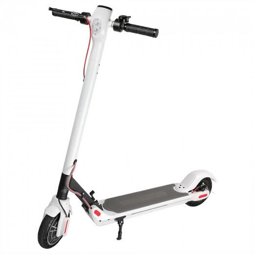 KUGOO ES2 Folding Electric Scooter - White