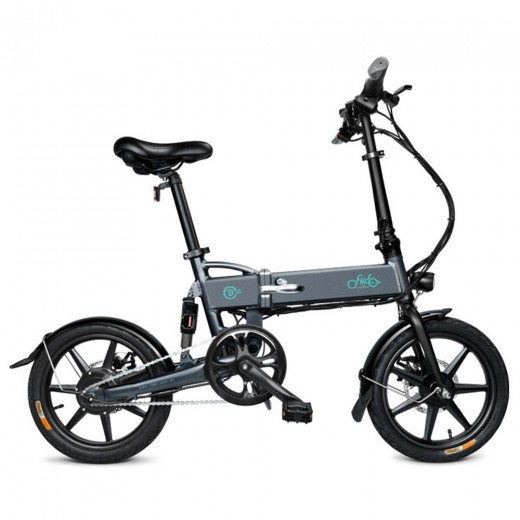 FIIDO D2 Folding Electric Moped Bike - Black