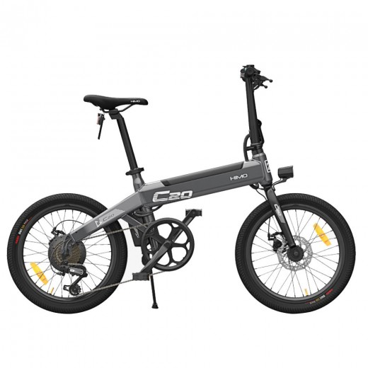 Xiaomi HIMO C20 Folding Electric Moped Bicycle - Grey