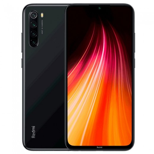 Xiaomi Redmi Note 8 Version Globale 4/64Go - Noir